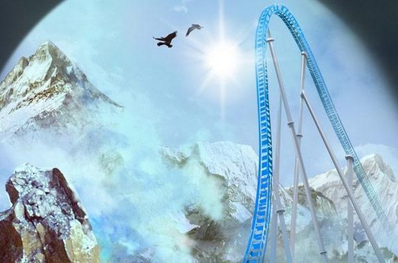Primera imagen de la nueva montaña rusa de Port Aventura para el año 2012, Shambhala